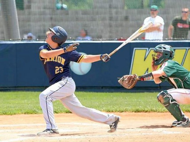 Marion baseball team gets twinbill sweep on Senior Day