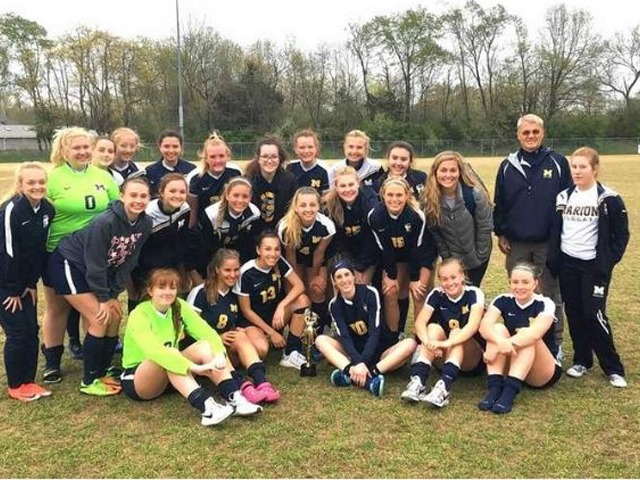 Marion girls soccer finishes second at Fralish Cup