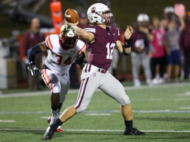 Comeback comes up short, but Don Bosco got its spark and maybe a new QB, too