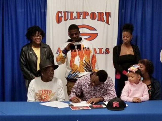 Tommie Johnson signed a LOI today with East Mississippi CC