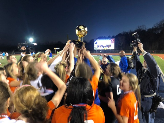 The Gulfport girls soccer team won a state championship for a second time
