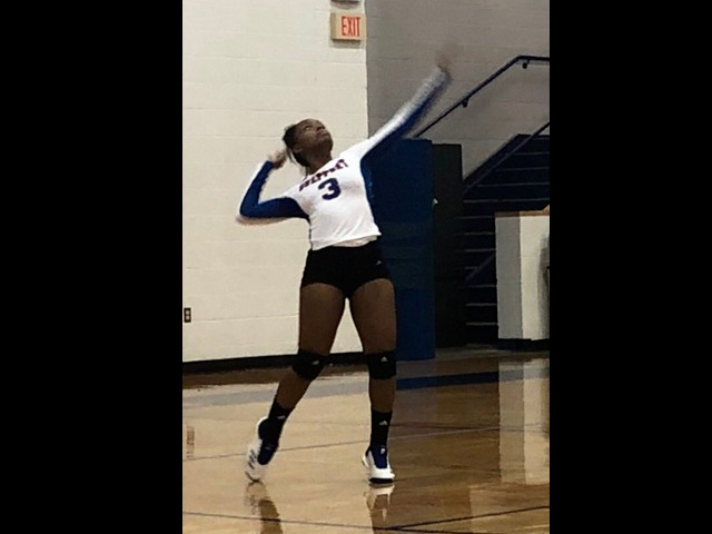GHS Volleyball  3-0 sweep of Bay High