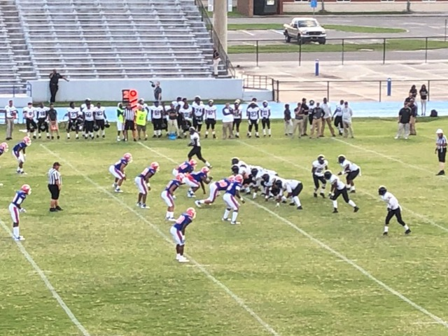 Spring Football action from Milner Stadium: Gulfport vs. Mobile Davidson