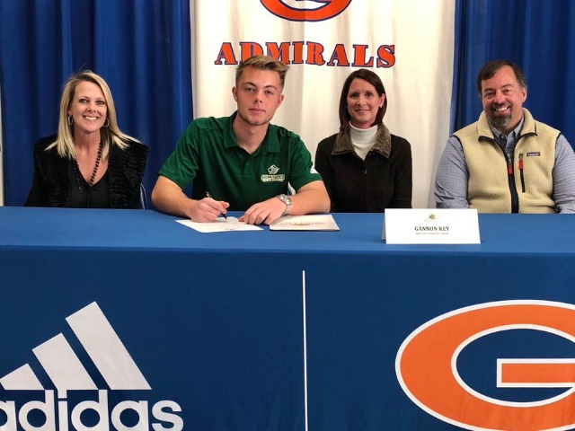 Gannon Key signed a Soccer LOI this morning with St. Leo University
