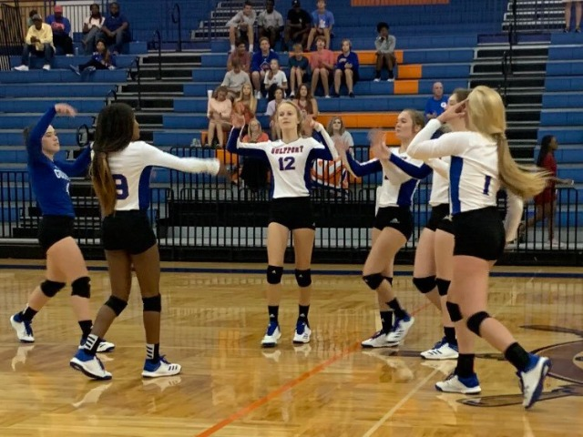 GHS Volleyball  3-0 win over Harrison Central