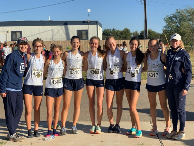 Girls XC Wins Conference