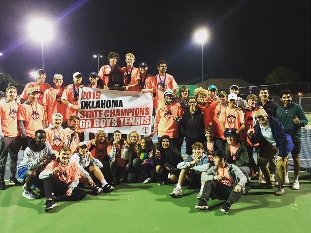 Image for Boys Tennis Wins Back-to-Back Titles