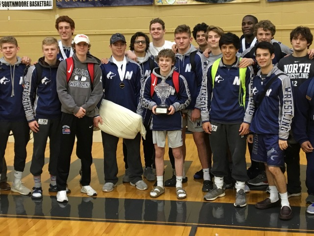 North Wrestlers Take 3rd Straight Conference Title