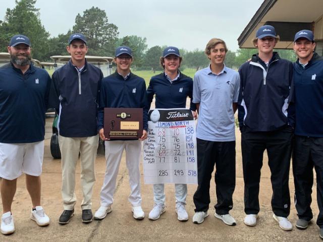 Boys Golf Wins Regionals, Wilson Wins Individual Title