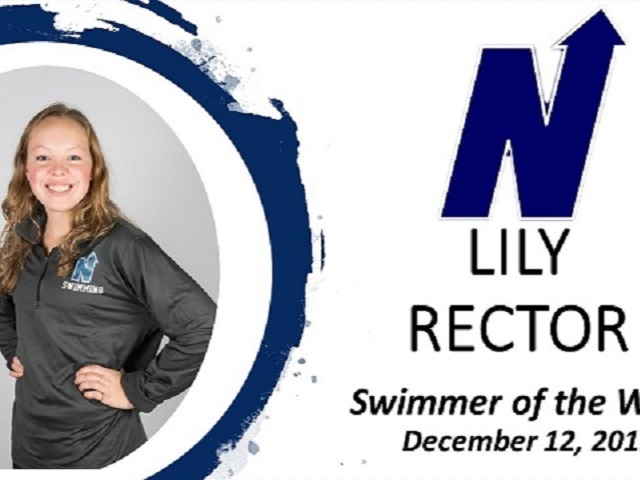 Swimmer of the Week - Lily Rector