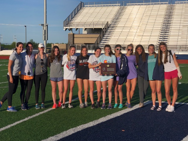 Image for Girls Track Wins Regionals