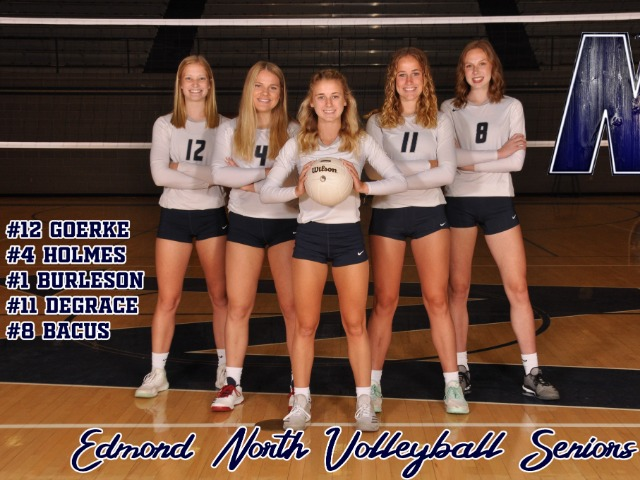 Volleyball Opens up at Southmoore