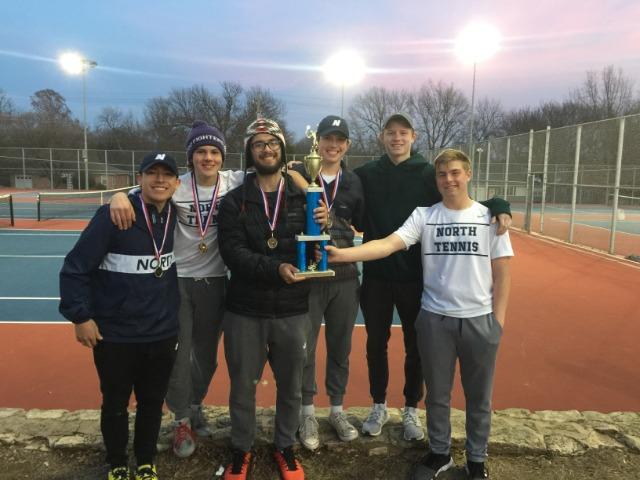 Boys Tennis Wins at Ponca City