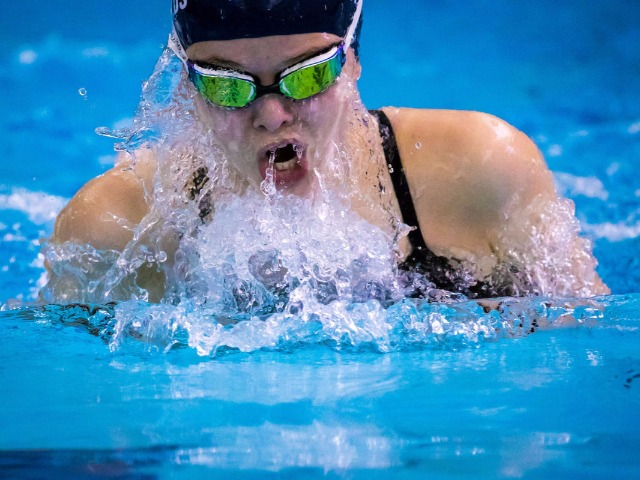 Edmond North, Memorial girls swim teams beat Jenks