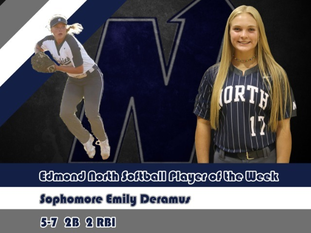 Softball Player of the Week-Emily Deramus