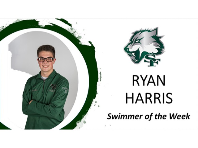 Swimmer of the Week: Ryan Harris