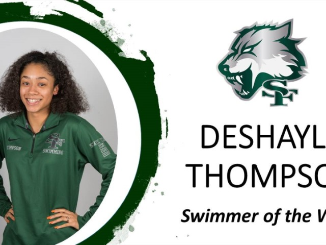 Swimmer of the Week! DeShayla Thompson