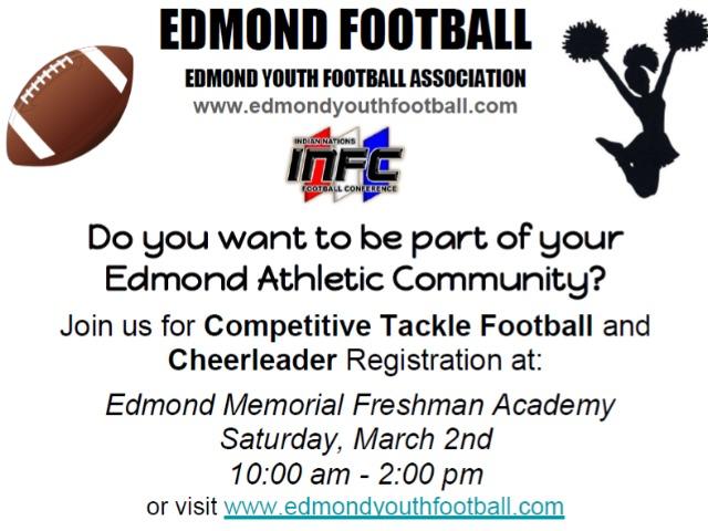 EDMOND YOUTH FOOTBALL