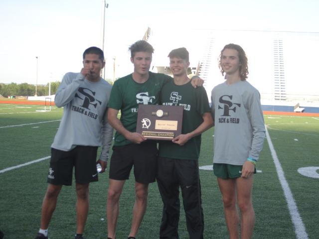 Boys Track Wins Regionals