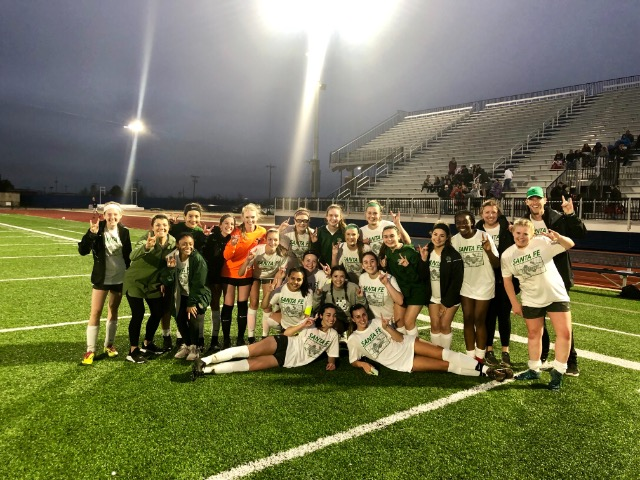 Girls' Soccer Wins a Victory against Edmond North