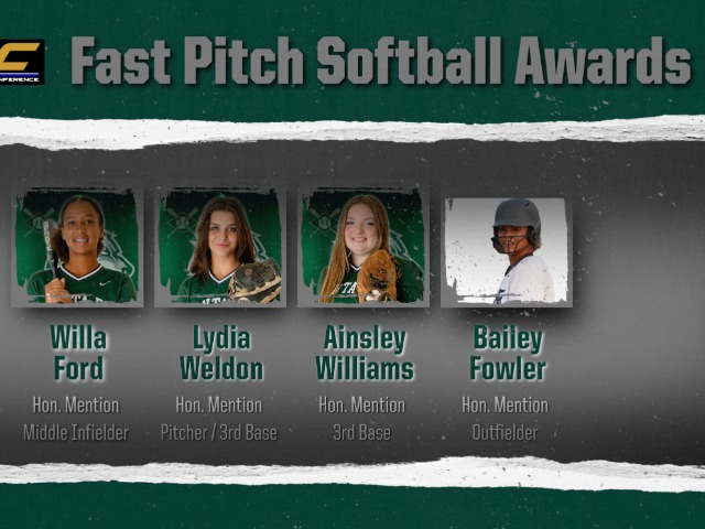Conference Softball awards announced!