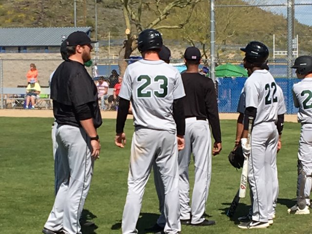 Edmond Santa Fe Wolves Varsity Takes the Game Over Quartz Mountain in a Blow-Out Victory, 8-2