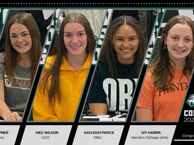 Four Lady Wolves are Committed at the Next Level!