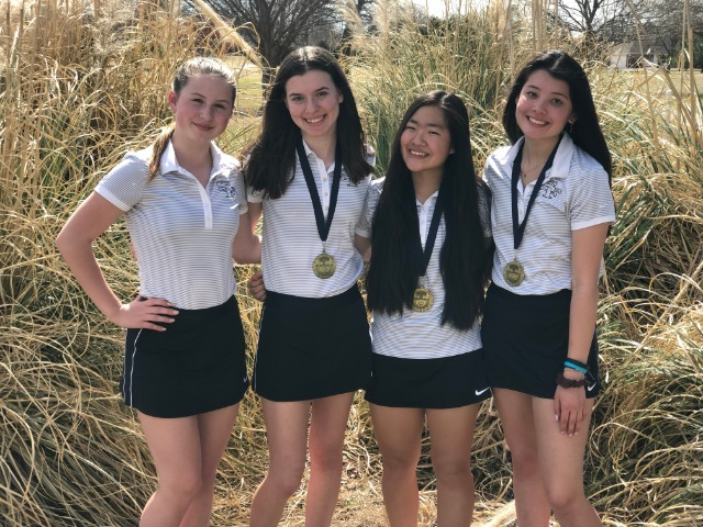 Girls JV Golf places 1st and 2nd this week