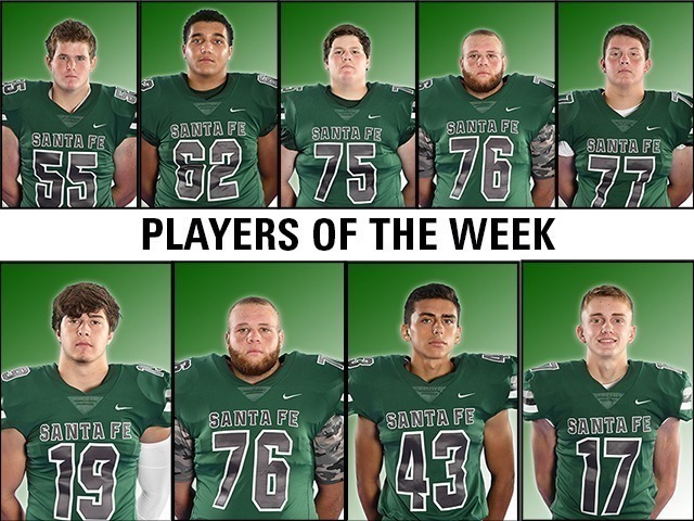 Weeks 1 - 4: Football Players of the Week