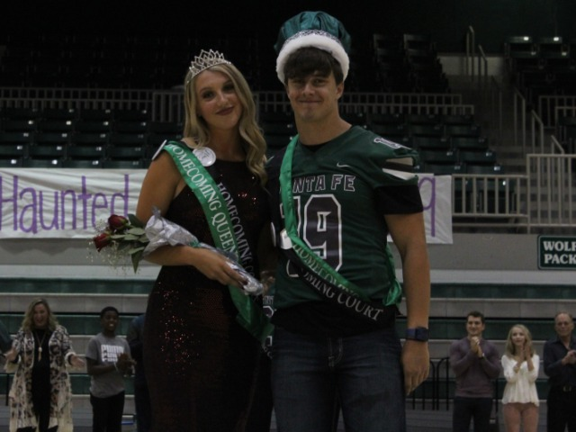 Homecoming King and Queen announced