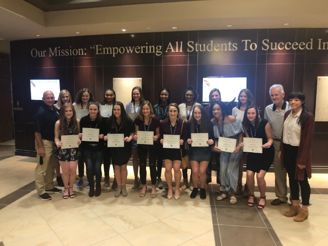 State Champs Recognized at EPS School Board Meeting