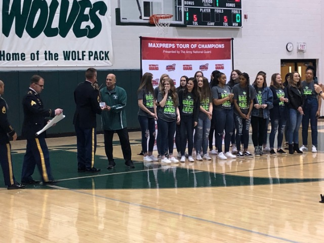 VOLLEYBALL TEAM RECOGNIZED