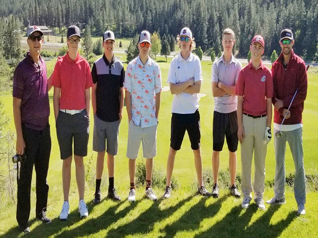 EHS boys No. 8 at state golf