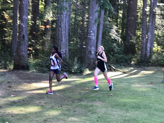 Hornet Cross Country at Deep Lake