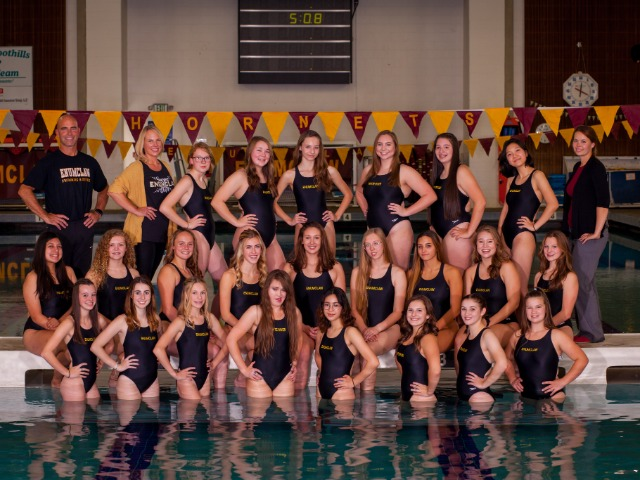 Hornet swim and dive continues to win vs Riverside
