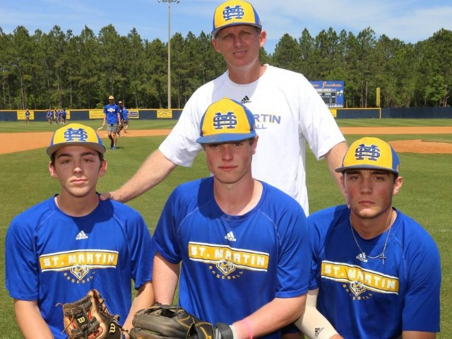 The St. Martin baseball team is full of young talent and it starts with a powerful junior