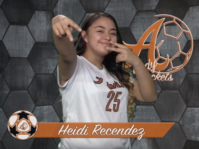 roster photo for Heidi Recendez