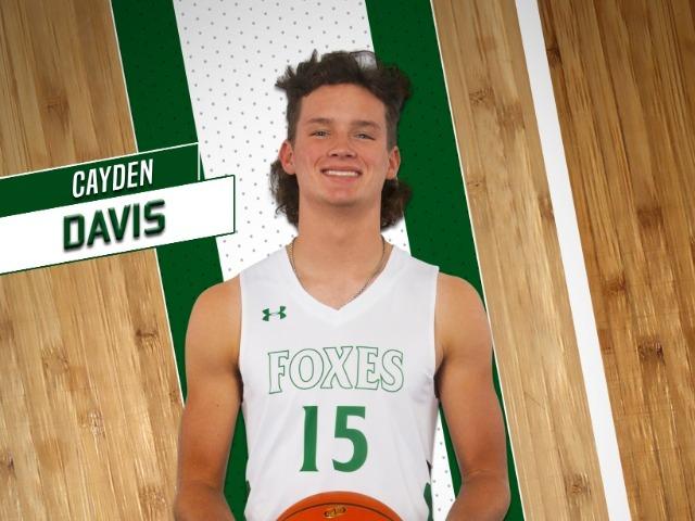 roster photo for Cayden Davis
