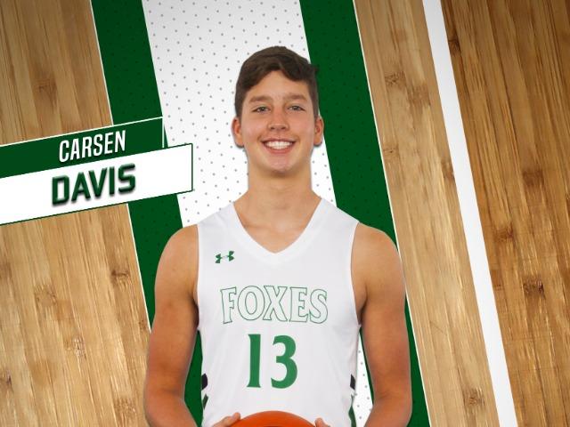 roster photo for Carsen Davis