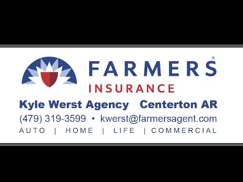 Farmers Insurance Kyle Werst logo