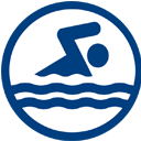 High School State Championships (Swim Only) logo