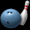 6A State Bowling logo