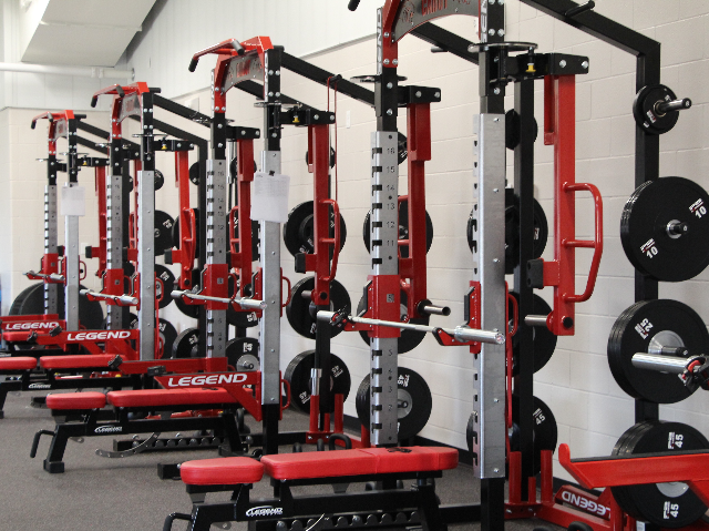 Wrestling Center Weight Room 4