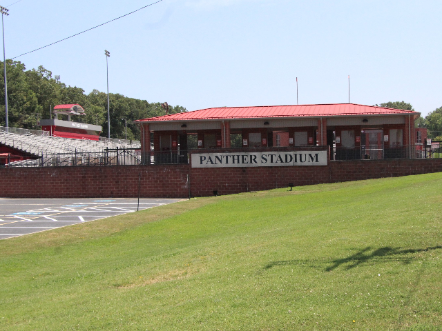 Front of Panther Stadium 0