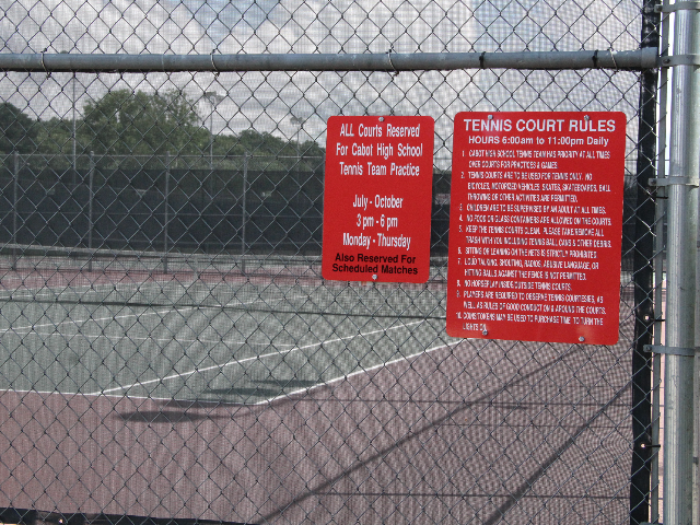 Tennis Court Rules 1