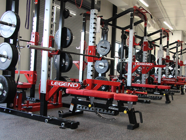 Wrestling Center Weight Room 3