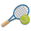 State Tennis Tournament logo