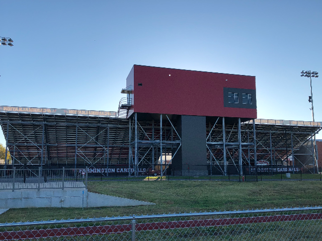 Backside View of Stadium and Press Box 4