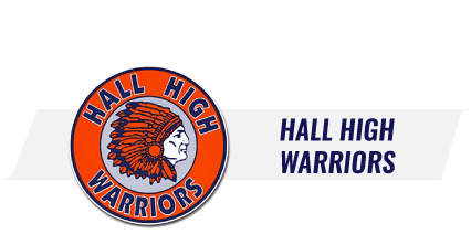 Hall High School logo