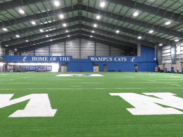 Indoor practice turf 4